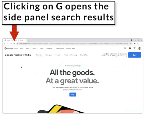 How Persistent Side Panel Search Works
